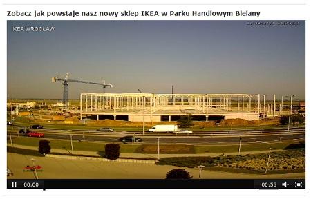 IKEA we Wrocławiu live