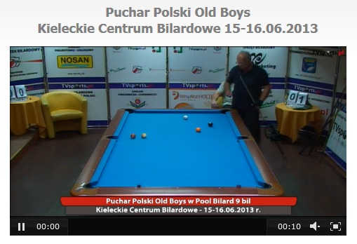 Puchar Polski Old Boys Kieleckie Centrum Bilardowe 15-16.06.2013