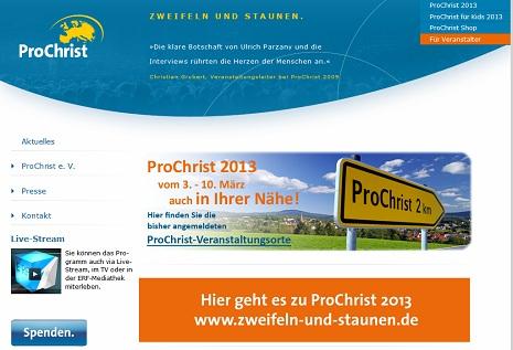 ProChrist in Stuttgart